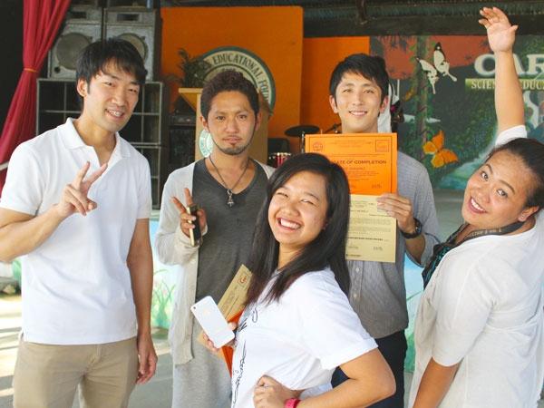 CNE1の生徒たち
