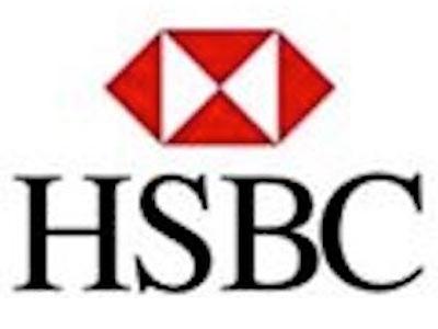 HSBC上海香港銀行ロゴ