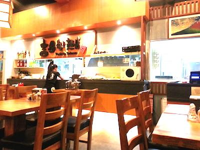 吉田製麺店店内