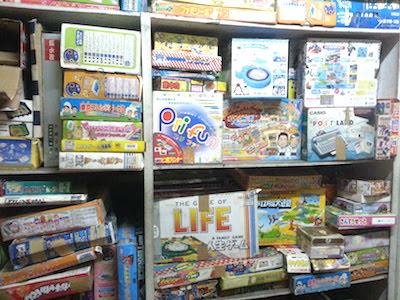 店内の中古おもちゃ