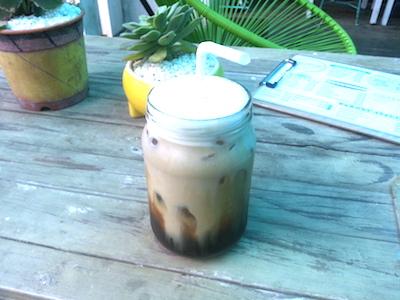 ARTSYのアイスコーヒー