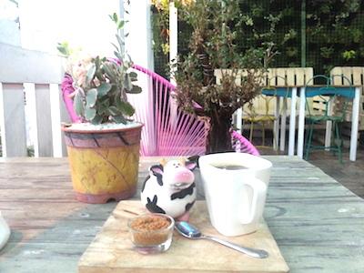 ARTSYのホットコーヒー