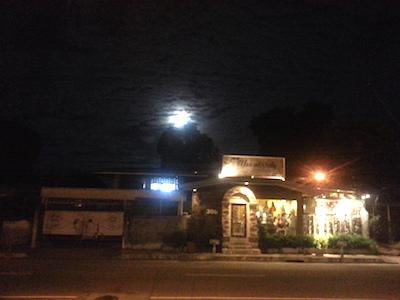 ARTSYから見える月光