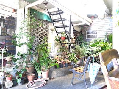 Felicidadの中庭