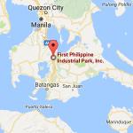 バタンガスエリア、ファーストフィリピンインダストリアルパーク(First Philippine Industrial Park)