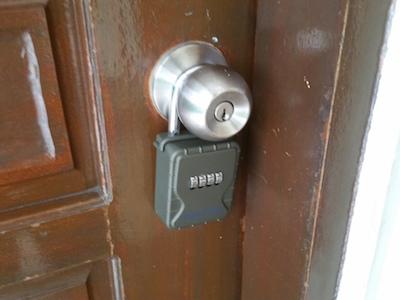 ドアにかけたDK-N55