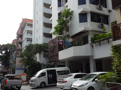 Exterior of Sunshine Hotel & Residence