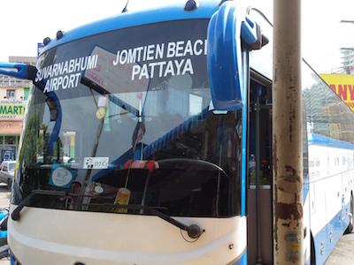バンコク行きバス