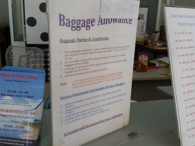 Luggage Notes