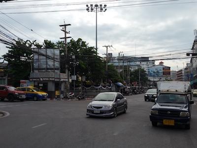 パタヤの街並み
