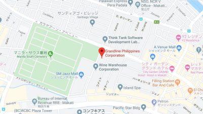 マニラの語学学校グランドライン地図
