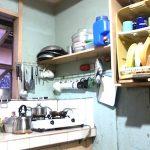 クバオのタコ部屋ボーディングハウスに滞在