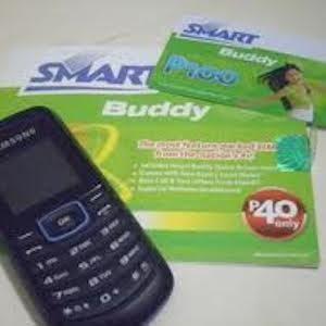 サムスンの携帯電話とSMARTのSIMカード