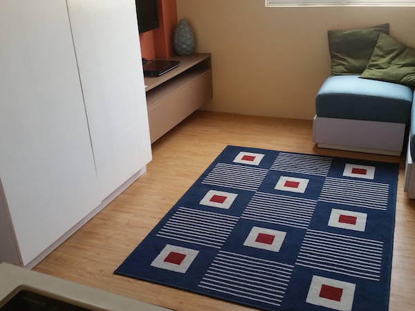 床に敷かれたカーペット