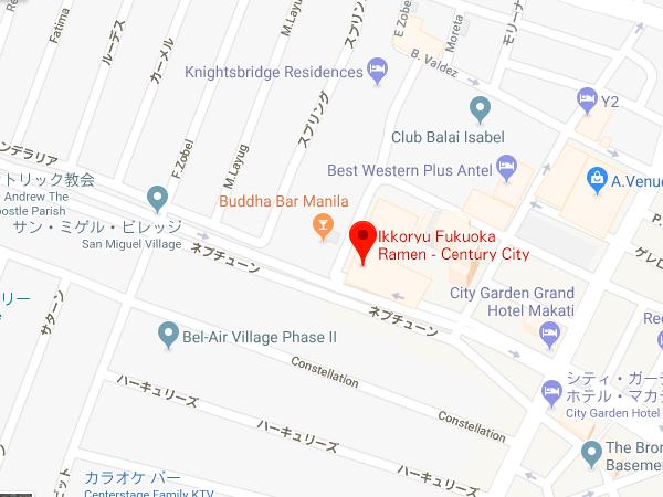 一康流福岡ラーメン地図