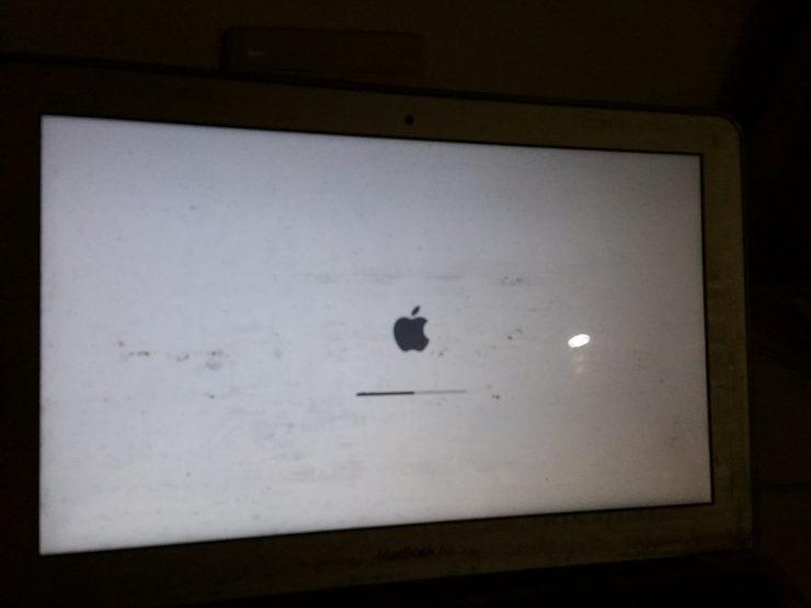 アップルマーク画面
