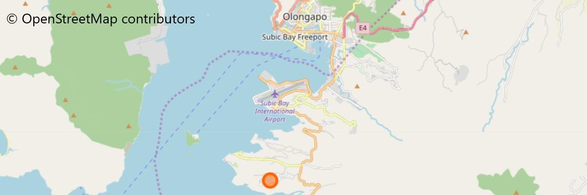 ズービックサファリの地図