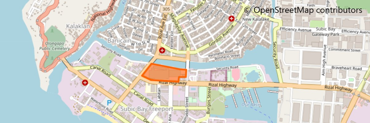 ハーバー・ポイントの地図