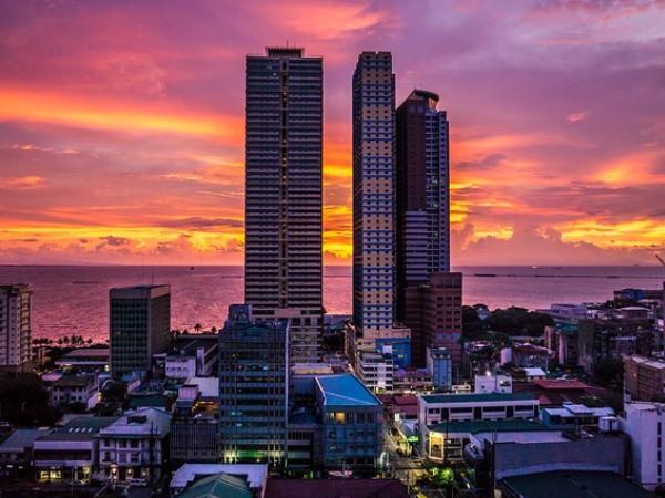 フィリピンの夜景