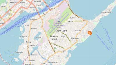 クリムゾンビーチリゾートアンドスパの地図