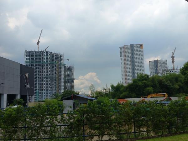 フィリピンのビル群