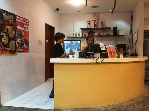 タンタン麺ハウスの店内