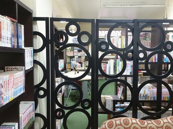 マニラまんが図書館内部