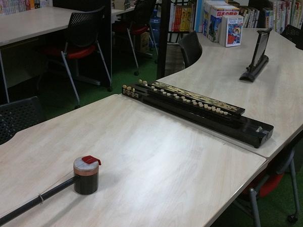古めかしい楽器