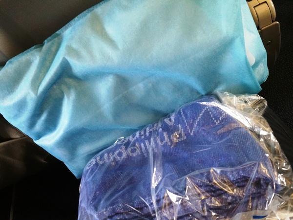 フィリピン航空の毛布