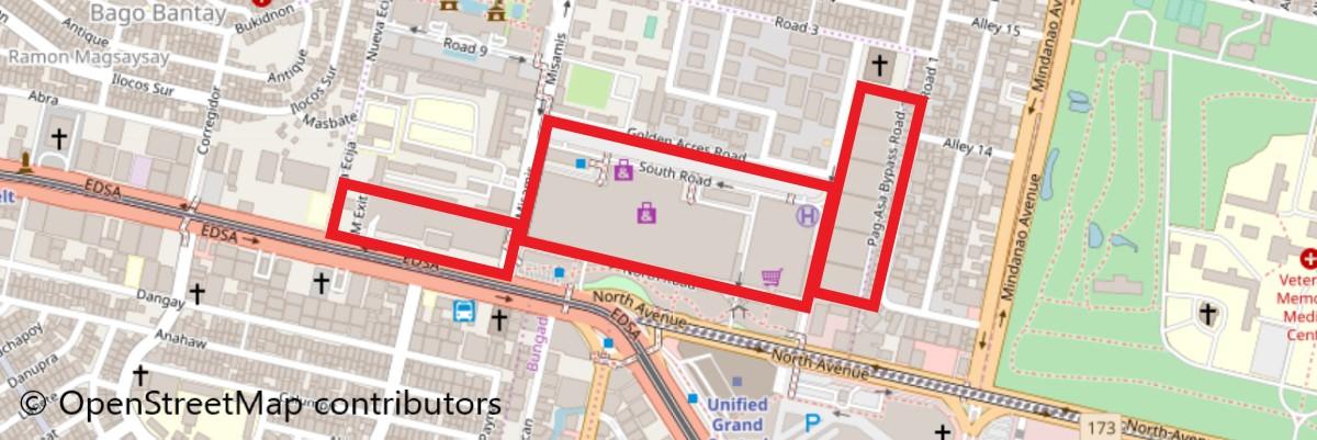 SMシティノースエドサ地図