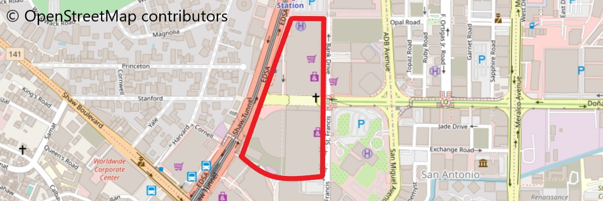 SMメガモール地図