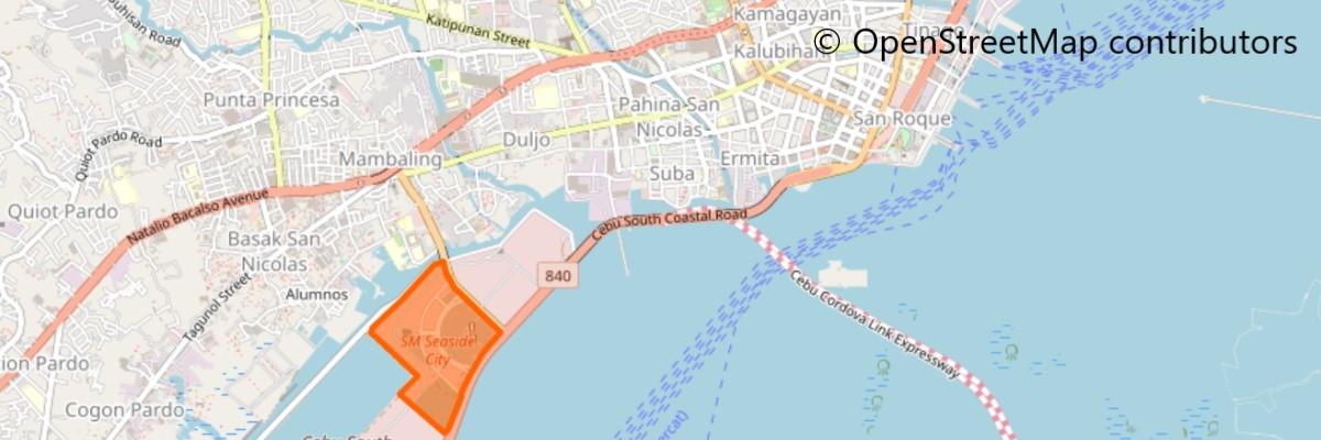 SMシーサイドシティセブ地図