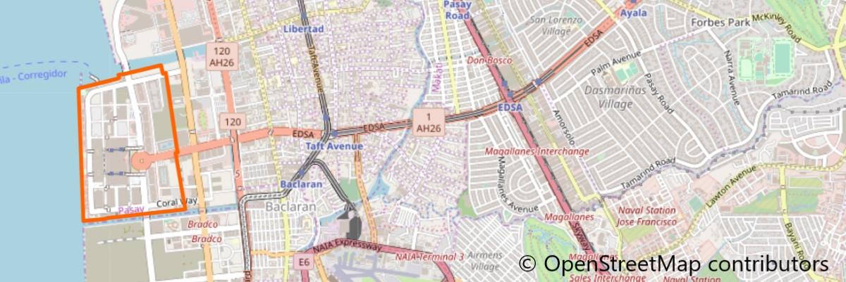 SMモールオブアジア地図