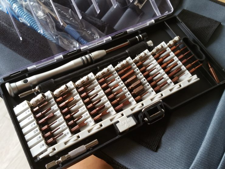ZENKE 81in1修理ツールのドライバーセット