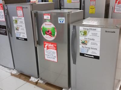 フィリピンの冷蔵庫