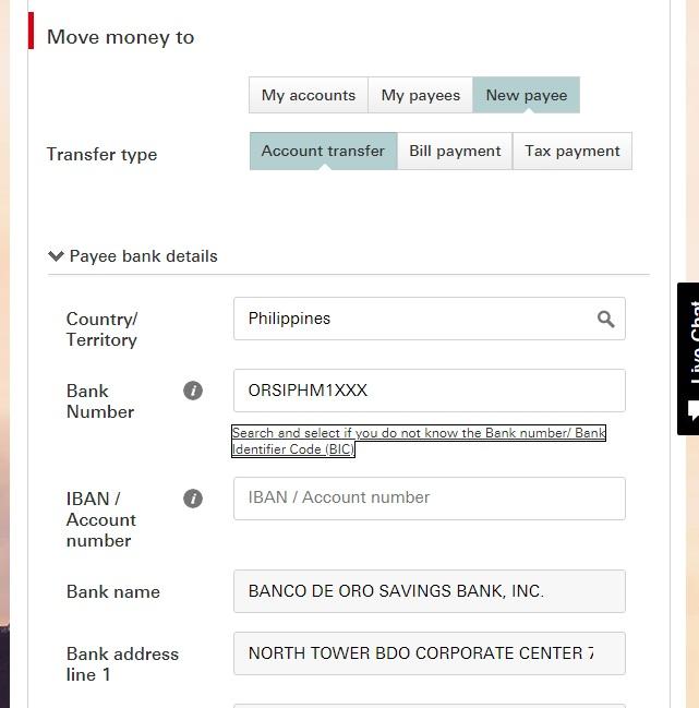 HSBC香港から海外送金する方法。取引限度額の上げ方や海外銀行