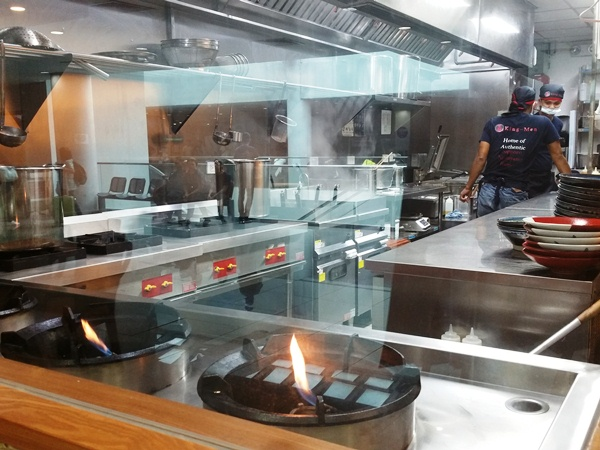 王麺の厨房