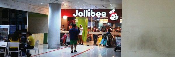 マニラ空港ターミナル3の4階ジョリビー