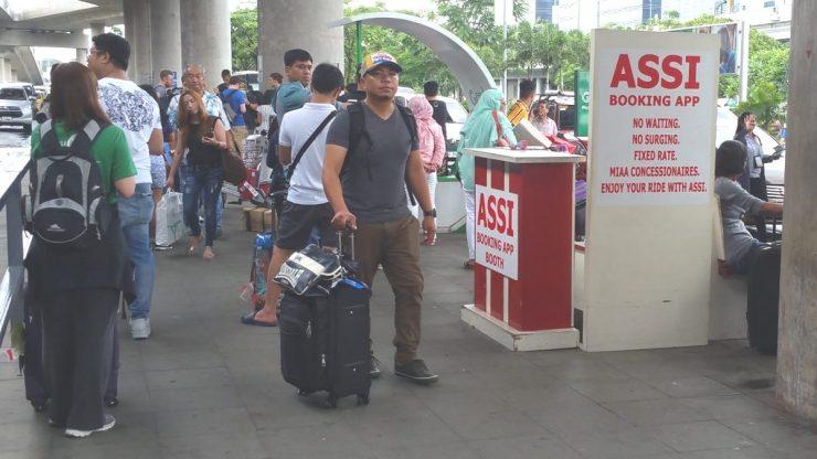 マニラ空港ターミナル3のASSI乗り場