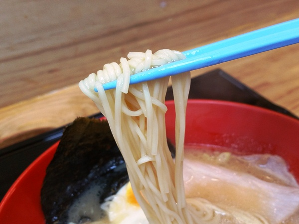 一蘭ラーメンの麺