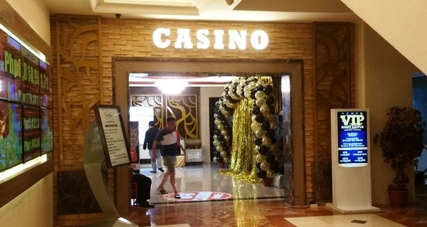 シェラトンマニラベイのカジノ入り口
