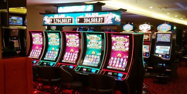 カジノのスロットマシン