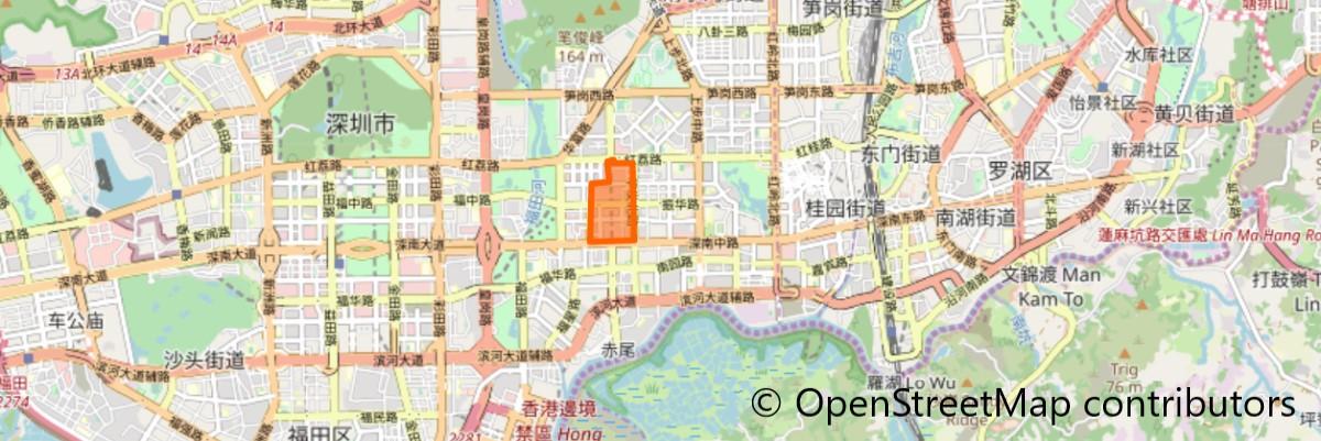 華強北地図