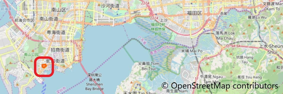 海上世界地図