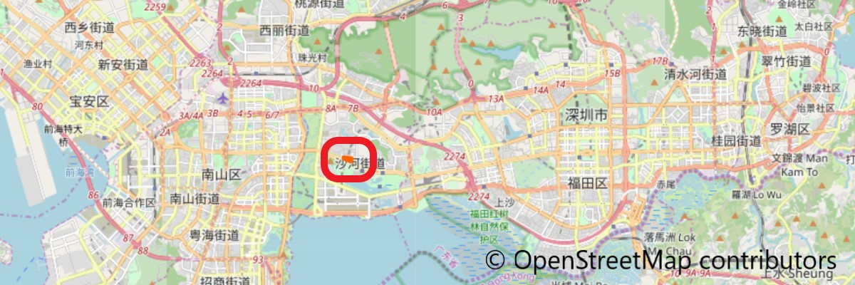 益田假日广场地図