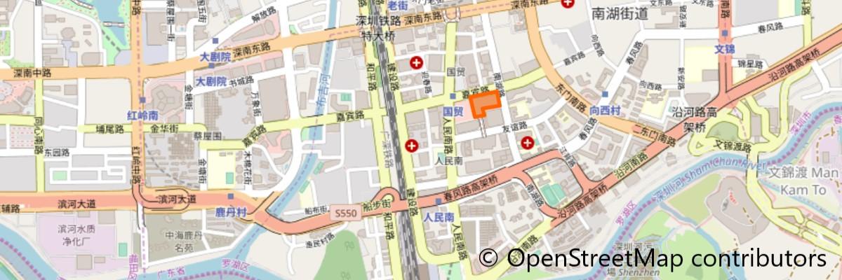 金光華広場地図