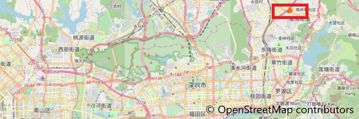 大芬油画村地図