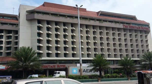 ヘリテージホテルの外観