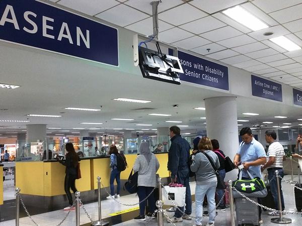 空港イミグレーション