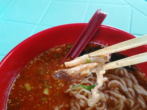 タンタン麺のチャーシュー